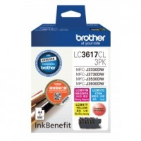 Brother LC3617CL Color 3Packs Orignal Cartridge ( C / M / Y )