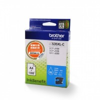 Brother LC535XLC Cyan Orignal Cartridge ( 藍 / C )