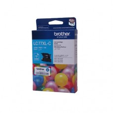 Brother LC77XLC Cyan Orignal Cartridge ( 藍 / C )