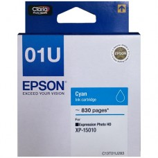 EPSON 01U Cyan Original Cartridge T01U283 ( Cyan / 藍 )