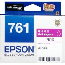 Epson 761 VIVID-MAGENTA Original Cartridge T761380 ( 鮮紅 / VM )