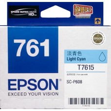 Epson 761 LIGHT-CYAN Original Cartridge T761580 ( 淡藍 / LC )
