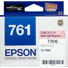 Epson 761 VIVID-LIGHT-MAGENTA Original Cartridge T761680 ( 鮮淡紅 / VLM )