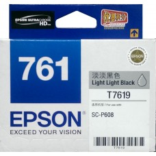 Epson 761 LIGHT-LIGHT-BLACK Original Cartridge T761980 ( 淡淡黑 /  LLBK )