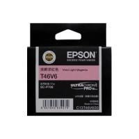 EPSON T46V6 Light Vivid Magenta Original Cartridge T46V600 ( 淡鮮洋紅 / LVM)