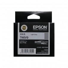 EPSON T46V9 Light Gray Original Cartridge T46V900 ( 淺灰 / LGy)
