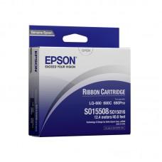 EPSON S015508 / S015262 / S015016 Original Ribbon ( 黑 / BK )