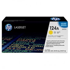 HP 124A Yellow Original LaserJet Toner Cartridge(Q6002A)