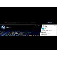 HP 119A Cyan Original Cartridge ( 藍 / C ) W2091A