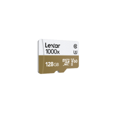 LEXAR 1000X 128GB MicroSDXC With USB3.0 Card Reader