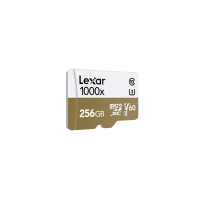 LEXAR 1000X 256GB MicroSDXC With USB3.0 Card Reader