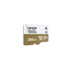 LEXAR 1000X 256GB MicroSDXC With USB3.0 Card Reader