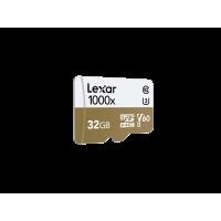 LEXAR 1000X 32GB MicroSDHC With USB3.0 Card Reader
