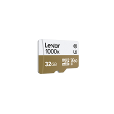 LEXAR 1000X 32GB MicroSDHC With USB3.0 Card Reader