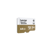 LEXAR 1000X 64GB MicroSDXC With USB3.0 Card Reader