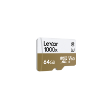 LEXAR 1000X 64GB MicroSDXC With USB3.0 Card Reader