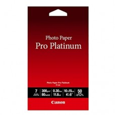 "Canon PT-101 Pro Platinum Photo Paper ( 4""x6"" )"