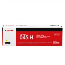 Canon 045H Yellow Original Cartridge(黃/Y)