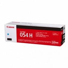 Canon 054H Cyan Original ( High Yield ) Cartridge ( 藍 / C )