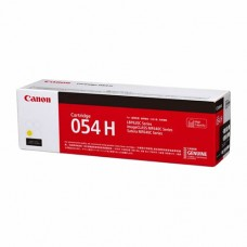 Canon 054H Yellow Original ( High Yield ) Cartridge ( 黃 / Y )