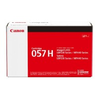 CANON 057H Original High Yield  Black Toner Cartridge ( BK / 黑 )